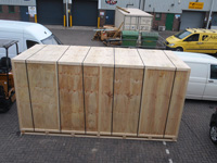 Complete Seafreight Timber Box